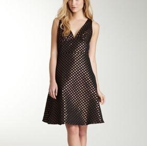 Eva Franco Colette Dress Metallic Polka Dots